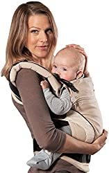 manduca Babytrage sand (Auslaufmodell) Bauchtrage Hüft- und Rückentrage, beige