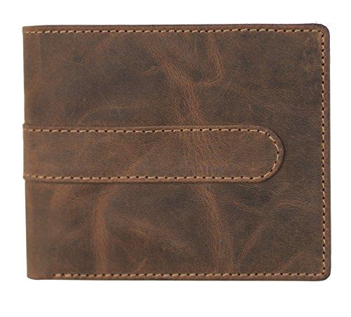 Herren-accessoires New Gürtel Wombat Artisan Range Mens Black Patterned Leather Belt