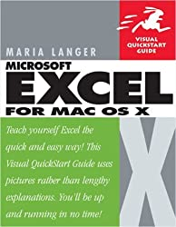 Excel X for Mac OS X: Visual QuickStart Guide by Maria Langer (2002-03-03)