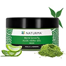 Naturma Neem Aloe Vera Gel, Natural and Organic, Heals Renews Cools, 100gm