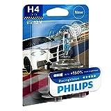 Philips RacingVision +150% H4 Scheinwerferlampe 12342RVB1, Einzelblister