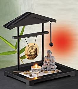 Zen garden gong design kitchen home for Jardin zen miniature