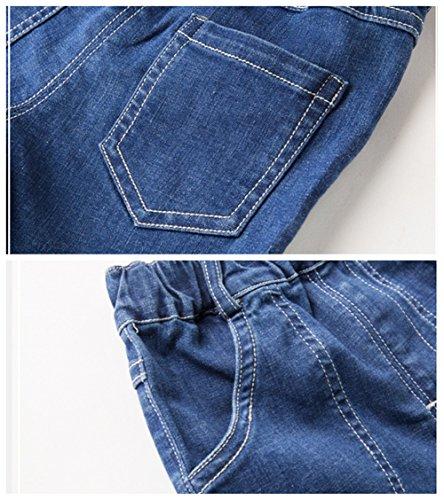 Bom Bom Little Boys Summer Cotton Jean Shorts