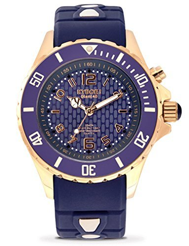Kyboe. Rose Gold Twilight RG.40 – 002.15 nero LED orologio da donna