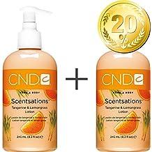 CND Scent sations Mandarin & Lemon Grass 245ml–Pack de ahorro de 220% descuento–de mano y bodylotion