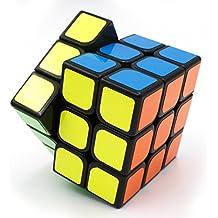 Rompecabezas cube IQ 3X3X3 Negro velocidad Puzzle Cubo de Rubik