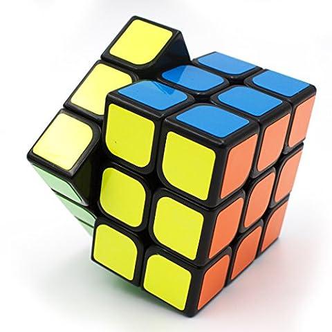3x3 Rubik's Cube de Vitesse Magique Classique Professionnel Jeux Educatifs Scientifiques (3×3×3)