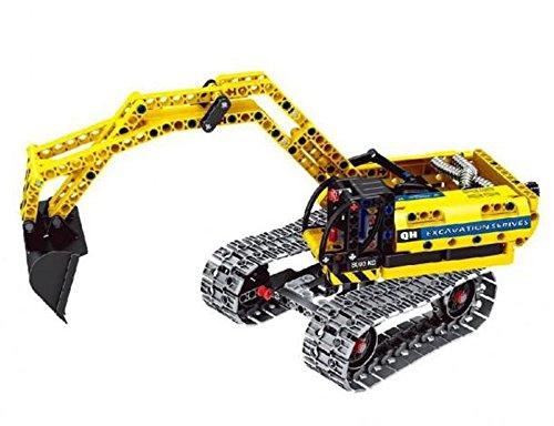 Modbrix Technic Bagger Bausteine Raupenbagger 342 Teile, Kompatibel mit L*GO Technik - 3