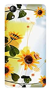 TrilMil Printed Designer Mobile Case Back Cover For Micromax Canvas Selfie 2 Q340