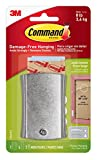 Command 17048 Wire Backed Metal - Sticky Nail and Stabiliser Strips - Silver