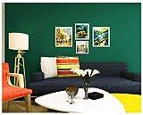 Papel pintado Beige 0.53 x 9m, Calcomanías para dormitorios Papel pintado dormitorio sala de estar Oficina Papel pintado autoadhesivo no tejido de pigmento puro @ Emerald_
