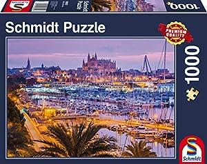 Schmidt Spiele 58302 Puzzle Puzzle - Rompecabezas (Puzzle Rompecabezas, Ciudad, Adultos, 12 año(s), 693 mm, 493 mm)