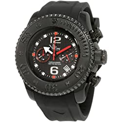 Vip Time Italy Men's VP5051BK Free Style Sporty Chronograph Watch