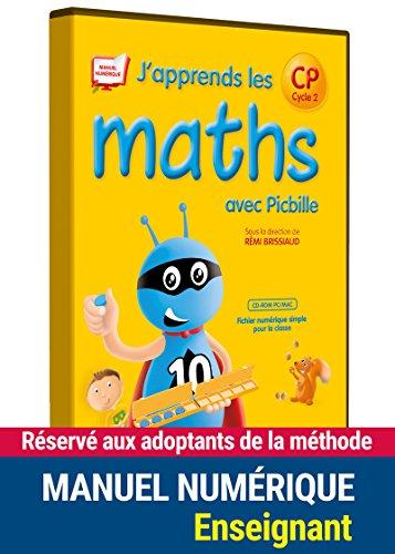 J'apprends les maths avec Picbille CP - Fichier de l'élève par Florence Suire, François Lelièvre, Pierre Clerc, André Ouzoulias (CD-Rom)
