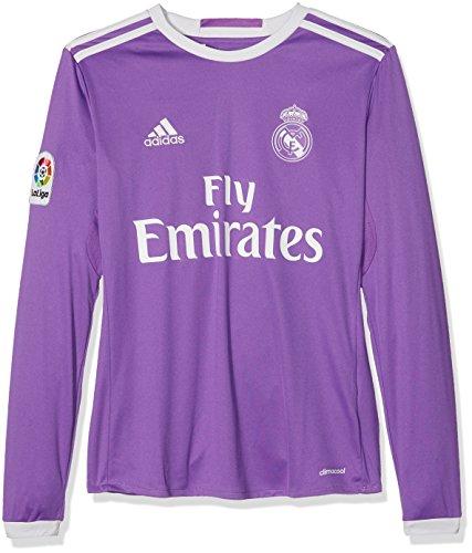 021c6edb1 adidas Real A JSY Y LS Deuxième - T-Shirt de Club Real Madrid CF