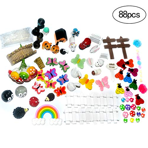 Garden Zubehör Ornaments Kit für Fairy Garden Dekor ... (1) ()