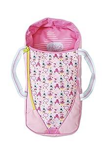 Zapf Baby Born 2in1 Sleeping Bag or Carrier Bolso de Dormir para muñecas - Accesorios para muñecas (Bolso de Dormir para muñecas, 3 año(s), Negro, Rosa, Blanco, 43 cm, Chica, Baby Born)