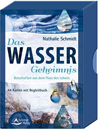 Das Wasser-Geheimnis: Botschaften aus dem Fluss des Lebens - 44 Karten mit Begleitbuch (Vertrauen Wasser)