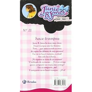 Junie B. Jones hace trampas (Castellano - A Partir De 6 Años - Personajes Y Series - Junie B. Jones)
