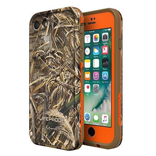 LifeProof frē Serie wasserdichte Schutzhülle für iPhone 8& 7(nur)-Retail Verpackung, (Blaze ORANGE/Black/Realtree MAX 5)