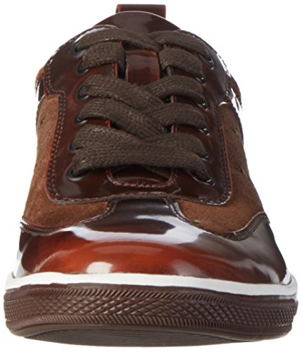Kenneth Cole Herren Giù Il Portello Low-top Braun (marrone Combo 215)