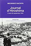 Journal d'Hiroshima - 6 août-30 septembre 1945