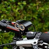 HibiscusElla 2000 LM XX2 High Brightness LED USB Bicycle Light MTB Bike Headlight Outdoor Night Riding Cycling Light