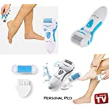 Jeval Personal Pedi Foot Filer Easy To Use Foot Care System The Perfect System For Easy Callous (1 Pcs)