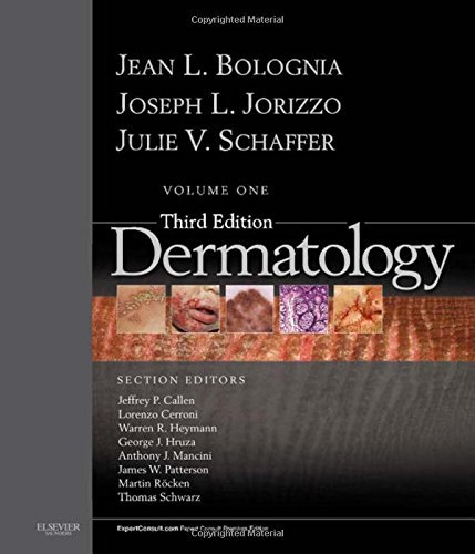 Dermatology: 2-Volume Set: Expert Consult Premium Edition - Enhanced Online Features and Print, 3e by Jean L. Bolognia MD (2012-06-26)
