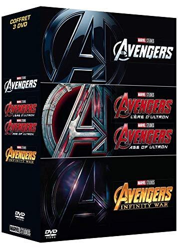 Avengers + Avengers : L'ère d'Ultron + Avengers : Infinity War