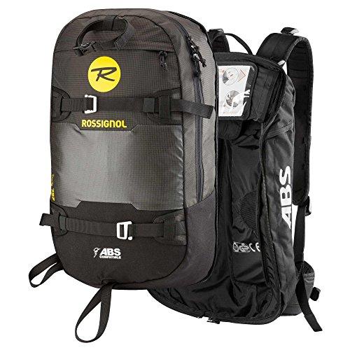 ROSSIGNOL–Zaino ABS Bag Compatibile 28L Uomo–Uomo–Taglia Unica–Nero