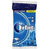 Orbit Chicle sin Azúcar con Sabor a Menta - 4 x 10 Grageas