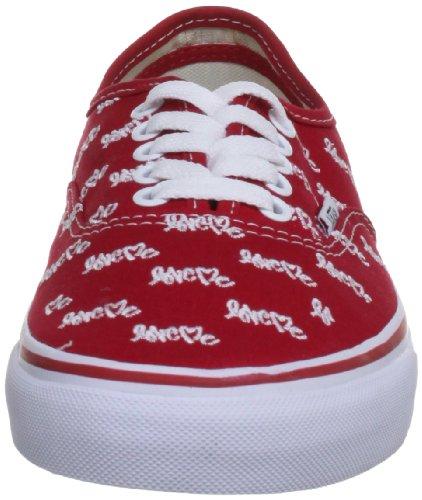 Vans Love Me X, Chaussures Mixte Adulte Rouge