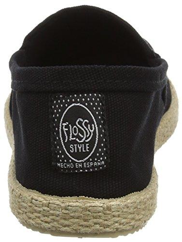 Flossy Milo, Espadrilles femme Noir (noir)