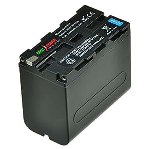 Chili Power NP-F970, NP-R60F975, NP-F960, NP-F930NP-F950Batterie pour Sony DSR-PD150/170, Fdr-ax2000AX1, HDR, HDR-PJ10FX1/FX7, FX1000, HVR-V1U hd1000u, HVR, HVR de Z1, hxr-FDR1mc2000u, Mavica, nex-vg20a nex-vg20j/fs700u/ea50uh