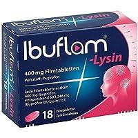 Preisvergleich für IBUFLAM-Lysin 400 mg Filmtabletten 18 St Filmtabletten