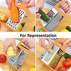 Tosmy Stainless Steel Six Sided Slicer, Color may vary