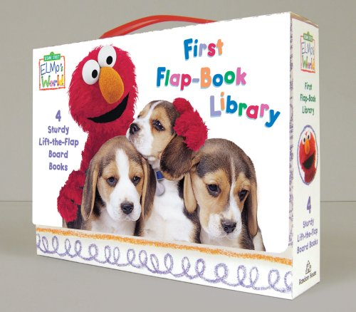 Elmo's World: First Flap-book Library (Sesame Street Elmo's World)