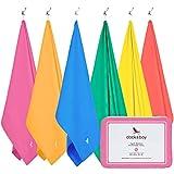 Mikrofaser Handtücher - Reise & Draußen (Rosa - Extra Groß 200x90cm) - Strandtuch, Badetücher, Leight, Saunatücher