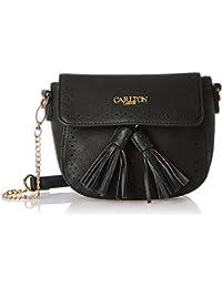 Carlton London Women's Sling Bag (Black)