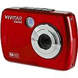 Caméra sous-marine numérique étanche Vivitar VS048 16 mégapixels (Rouge)
