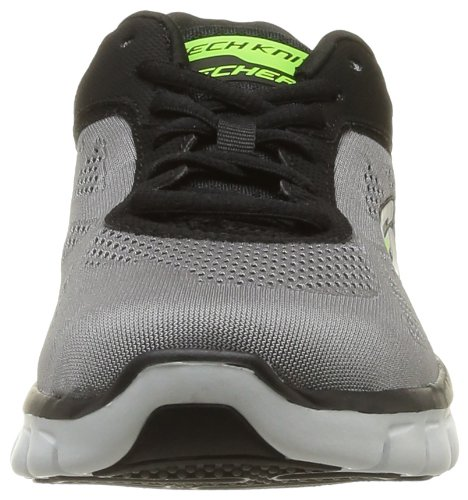 Skechers Synergy Power Shield, Chaussures de sports en salle homme Gris (Lgbk)