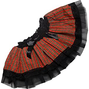 STD Ladies Tutu - Tartan Design Tu Tu for Scottish Fancy Dress