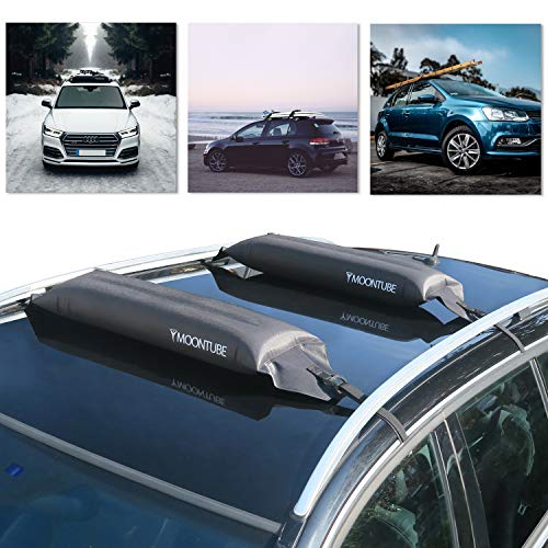 98-08 Pair of Roof Bars D-1 130cm Toyota Avensis Hatchback Saloon