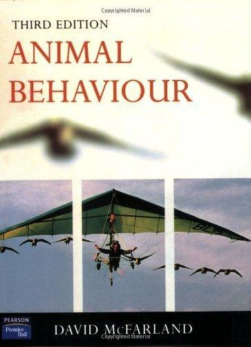 Animal Behaviour: Psychobiology, Ethology and Evolution (3rd Edition) by David McFarland (1998-12-15)