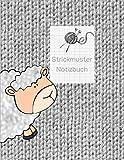 Strickmuster Notizbuch: Blanko Strickbuch für Ihre Strick-Modelle, Strickpapier, Verhältnis 4:5