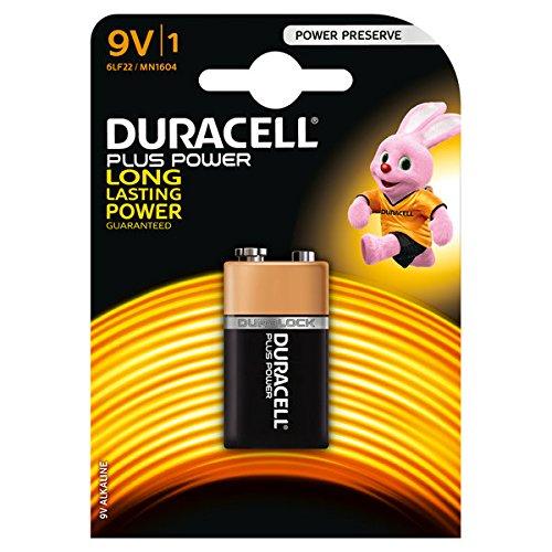 Batterie DURACELL® PLUS Power, PG=1ST, Block 9,0 V, MN1604 Plus Power
