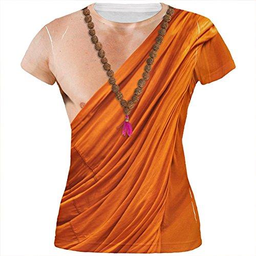 Halloween-buddhistischer Mönch Kostüm alles über Juniors T Shirt Multi X-LG (Buddhistische Kostüme)