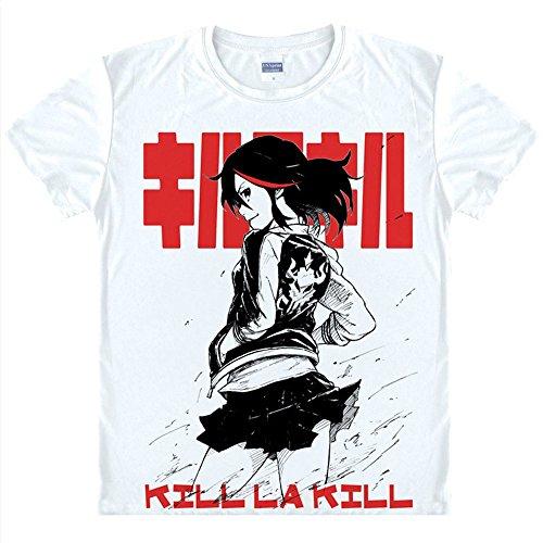 KILL la KILL T-Shirt Kostüm Cosplay (Kostüm Cosplay Ryuko)