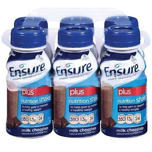 ensure-plus-ready-to-drink-nutrition-shake-8-oz-6-ea-milk-chocolate-2-pack-by-abbott-laboratories